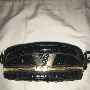 Brahmin Bags - Brahmin lane crossbody w/mini key wallet 'Black'